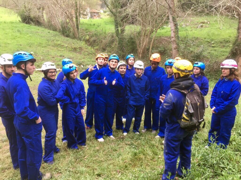Viaje de estudios en Asturias