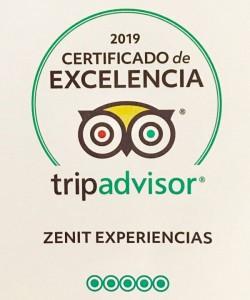 certificado zenit experiencias
